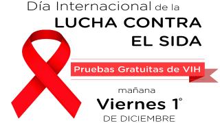 INJUVE conmemora Día Internacional de la Lucha Contra el SIDA con aplicación masiva de pruebas rápidas y gratuitas
