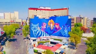 Crece circuito lienzo CDMX, arte urbano por la ciudad que queremos