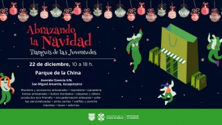 Apoya Injuve a emprendedores en tianguis navideño de las juventudes